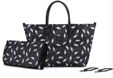 Soma KinderKraft Shopper Bag Mommy Black