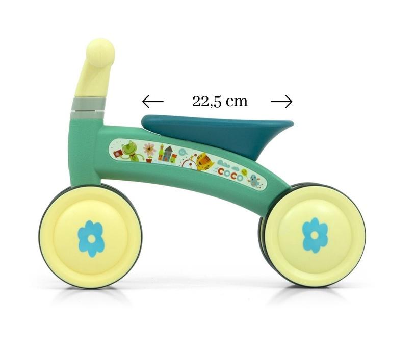 Балансирующий велосипед Milly Mally Coco Ride On Mint