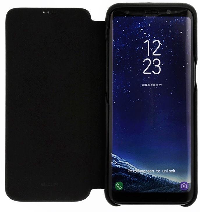 Tellur Slim Book Case For Samsung Galaxy S8 Black