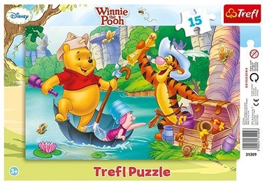 Puzle Trefl Disney Winnie The Pooh 31209, 15 gab.
