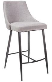 Bāra krēsls Signal Meble Modern Nobel H-1, melna/pelēka