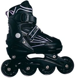 Ролики Outsiders Adjustable Kids Inline Rollerblades Black/Light Purple 35-38