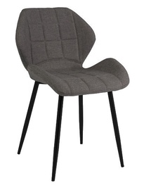 Ēdamistabas krēsls Signal Meble Hals Black/Grey, 1 gab.