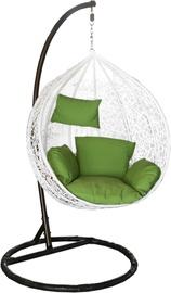 Dārza krēsls Besk 4750959068816, balta, stiprināms
