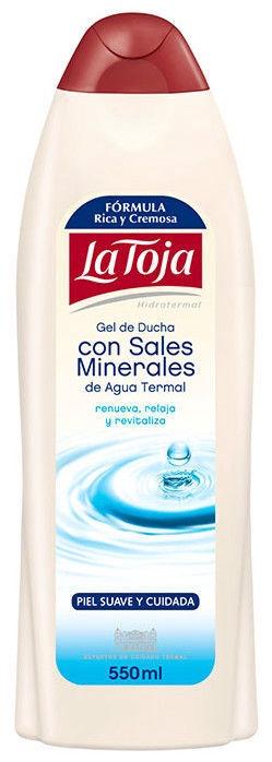 Гель для душа La Toja Mineral Salts, 550 мл