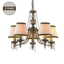 LAMPA GRIESTU VERONA MD6128-5 5X40W E14 (DOMOLETTI)