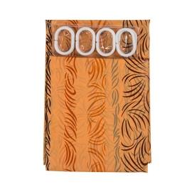 Home Accents Bathroom Curtains PED-002 180x180cm Orange