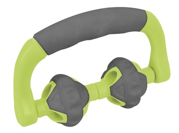 Masāžas ierīce Lifefit Twin Massage Roll Green/Grey