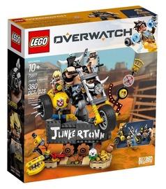 Konstruktors LEGO® Overwatch 75977 Junkrat un Roadhog