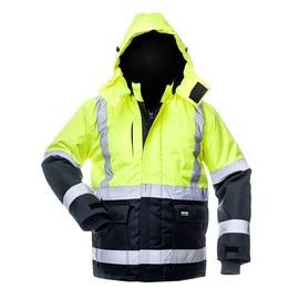 Baltic Canvas Winter Jacket 8946 Blue/Yellow XL