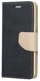 TakeMe Fancy Diary Bookstand Case Samsung Galaxy J4 Plus J415 Black/Gold