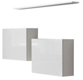 ASM Switch SB I Hanging Cabinet/Shelf Set White