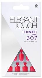 Elegant Touch Polished UV Gel Technology 307 Coral Short
