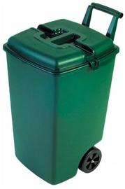 Āra atkritumu tvertne Curver, zaļa, 90 l