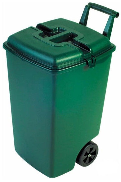 Curver Waste Bin 90l Green