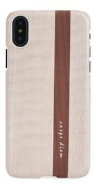 Man&Wood Papiro Back Case For Apple iPhone X/XS White