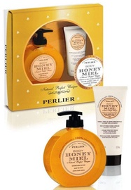 Perlier Honey Miel Liquid Soap 2pcs Set