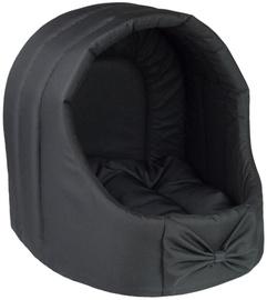 Mūrītis Amiplay Basic Oval Dog House L 44x44x46cm Black