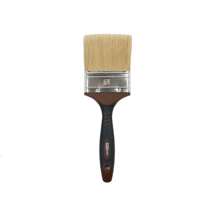 HausHalt Flat Brush RJ3348 Mixed Black/Brown 76mm