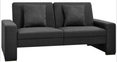 Диван-кровать VLX Universal 323613, темно-серый, 176 x 83 x 81 см
