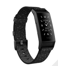Fitnesa aproce Fitbit Charge 4, melna