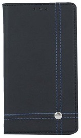 Mocco Smart Focus Book Case For Samsung Galaxy S5 Black/Blue