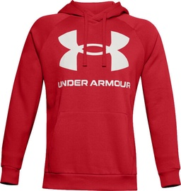 Under Armour Rival Fleece Big Logo Hoodie 1357093-608 Red S