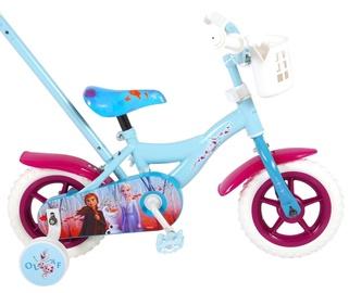 "Bērnu velosipēds Volare Disney Frozen II 91050, zila/violeta, 10"""