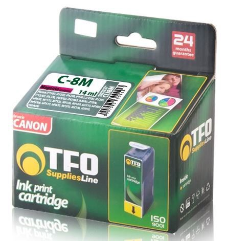 TFO Ink Cartridge 14ml for Canon Pixma Magenta