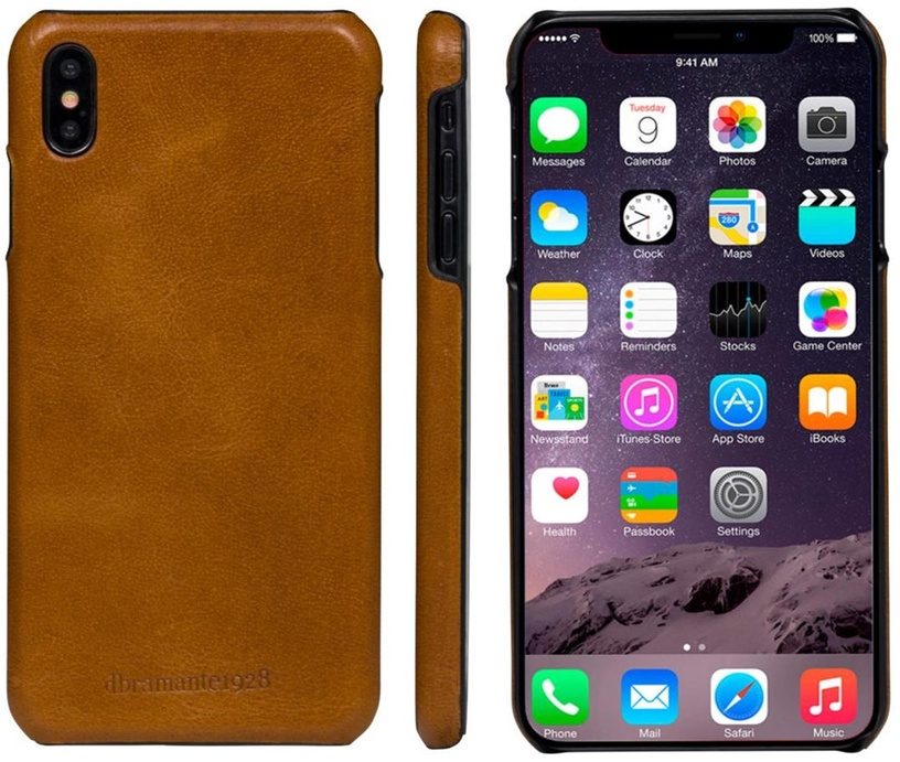Dbramante1928 Lynge Case For Apple iPhone XS Max Brown