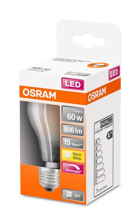 Spuldze Osram LEDSCLA60D LED Light Bulb 7.5W/827 E27