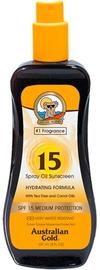 Australian Gold Spray Oil Sunscreen Carrot Oil Formula SPF15 237ml