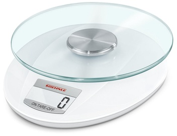 Soehnle Electronic Kitchen Scales Roma White