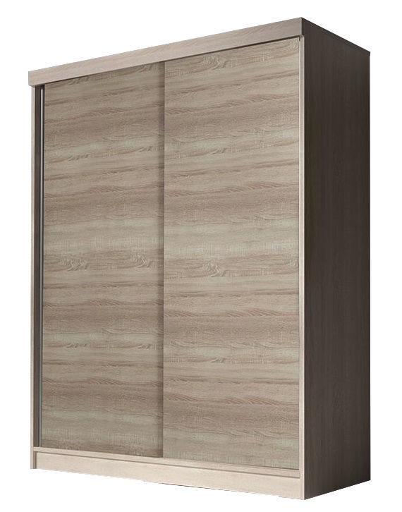 Skapis Idzczak Meble Bono BIS Sonoma Oak, 160x61x195 cm