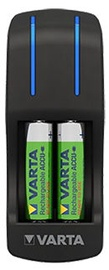 Varta Pocket AA/AAA Battery Charger With AA 2600mAh x4