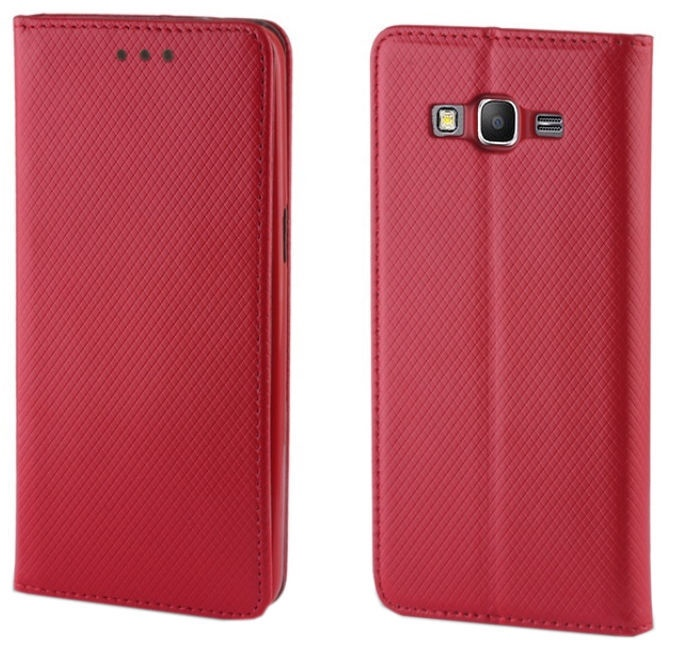 TakeMe Smart Magnetic Fix Book Case For Samsung Galaxy A80 Red