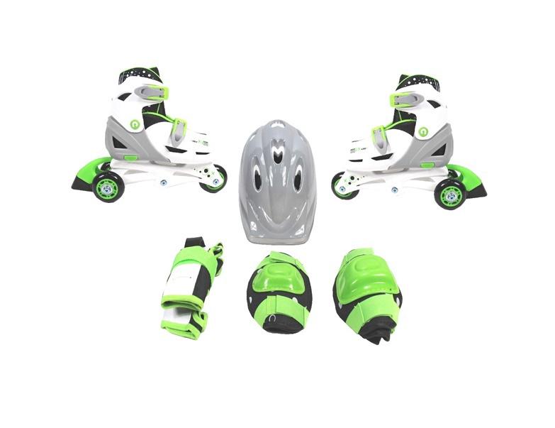 Ролики SN Rollerblades GW-069HBC-01 Green 34-37
