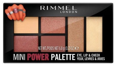 Rimmel London Mini Power Palette 6.8g 006