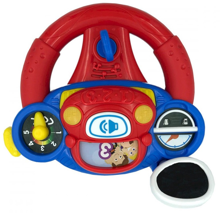 Интерактивная игрушка WinFun Lil Learner Driver