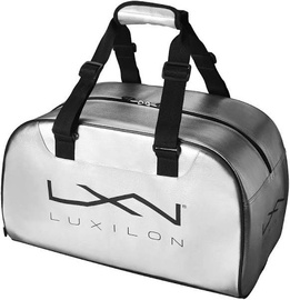 Спортивная сумка Wilson Luxilion Duffel, серебристый/черный