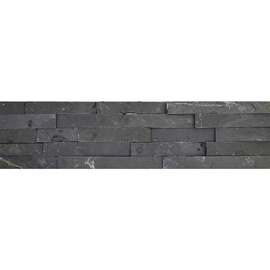 Плитка SN Stone Black White Floor Tiles 15x60cm Black