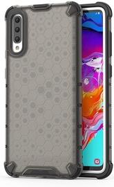 Hurtel Honeycomb Armor Back Case For Samsung Galaxy A70 Black