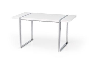Обеденный стол Halmar Lion White, 1400x800x750 мм