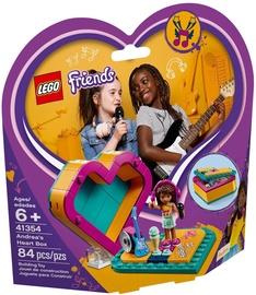 Konstruktors Lego Friends Andrea's Heart Box 41354