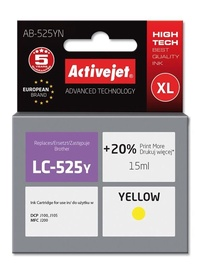 HP Ink Cartridge For Brother 15ml Yellow