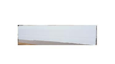 GRĪDLĪSTE PVC 2,2M BALTA SG7500