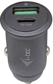 i-Tec Car Charger 1x USB-C PD 30W CHARGER-CARQCPD