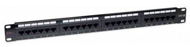 Techly Cat. 5e 24 x RJ-45 Patch Panel