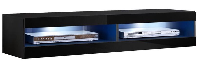 Dzīvojamās istabas mēbeļu komplekts ASM Fly O7 Black