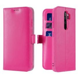 Dux Ducis Kado Bookcase For Xiaomi Redmi Note 8 Pro Pink